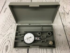 Mitutoyo No 513 403 Anti Magnetic 0001 Dial Test Indicator With Case