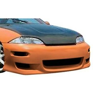 For Chevy Cavalier 95 99 Tx 1 Style Fiberglass Front Bumper Cover Unpainted