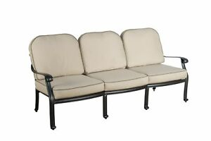 Darby Home Co Dunnes Patio Sofa With Sunbrella Cushions Set Of 2