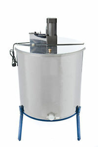 Borders Unlimited Beekeeping Equipment Four frame Electric Honey Extractor
