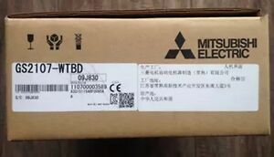 New In Box Mitsubishi Hmi Gs2107 wtbd fp