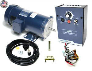 Kb Electronics Kbmd 240d Dc Drive 9370 W Leeson 1800rpm 3 4hp Motor Made In Usa