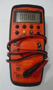 Meterman True Rms Amprobe 37xr Professional Digital Multimeter Nice