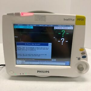 Philips Intellivue Mp30 Anesthesia Monitor W M3001a Module Tested Working