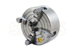 Shars 6 4 Jaw Independent Lathe Chuck Reversible Jaws New