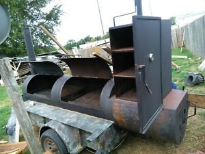 Bbq Smoker Trailer Pre owned