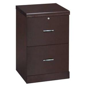 Z line Designs 2 drawer Vertical File Cabinet Espresso