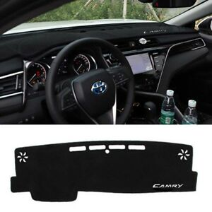 1x For 2018 Toyota Camry Car Dashboard Dash Mat Dashmat Anti Sun Proection Pad