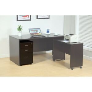 Spacious File Cabinet With 2 Drawers On Metal Glides