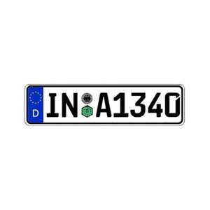 Germany Any Country Custom Authentic Eec Europlate License Plate