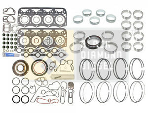 Black Diamond 94 97 Ford 7 3 Powerstroke Engine Rebuild Rering Kit