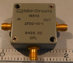 Mini Circuits Zfdc 10 1 Directional Coupler