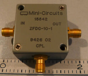 Mini Circuits Directional Coupler In Stock   JM Builder Supply and