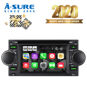 Car Dvd Gps Navi Radio Stereo For Dodge Ram Chrysler 300c jeep Grand Cherokee