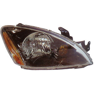 Pair New Left Right Headlight Assembly For Mitsubishi Lancer 2004 2007