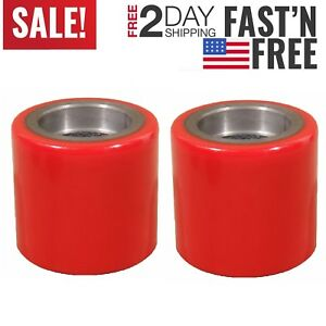 2 Pcs Eoslift Replacement Part Pallet Truck jack Pu Load Wheel For All Series