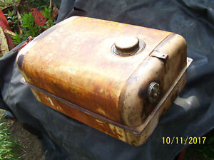 Vintage Ji Case 700 Row Crop Tractor fuel Tank Cap clean 1958