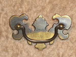 Antique Brass Drawer Pulls Set Of 16 With Mounting Screws