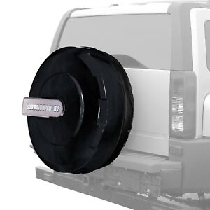 For Hummer H3 06 10 Boomerang 33 Xtreme Series Black Spare Tire Cover