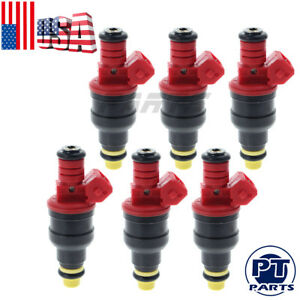 New Upgraded Bosch Set Of 6 Fuel Injectors For Ford Explorer Ranger B4000 4 0l