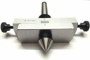Taper Metal Turning Attachment In 3mt Shank For Off setting Lathe s Tailstock