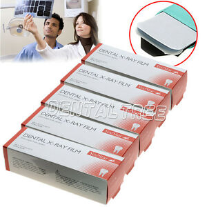 5 Boxes Dental X ray Film Size 3cm X 4cm For Reader Scanner Machine 100pcs box