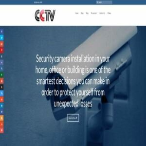 Surveillance Camera Shop Online Business Website For Sale Hosting Domain