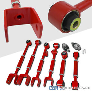 For 08 13 Accord 09 13 Tl Tsx Front Ball Joint rear Control Camber Arm Kit