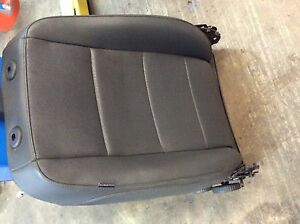 2006 Vw Jetta Mk5 Leather Seat Back Assembly Black Front Right Passenger
