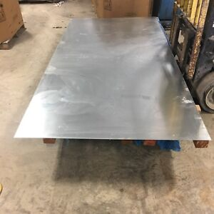 48 X 10ft Galvanized Steel Sheet Flat Stock 1 16 Thick