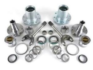 Dynatrac Hub Conversion Kit Dynaloc Hubs Fits Dodge 2012 2017 2500 3500 4x4