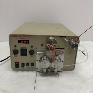 Bas Solvent Delivery System Pm 80 g Gradient Hplc Pump Tested Working