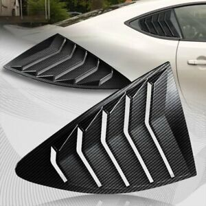 For 2013 2020 Scion Fr S Subaru Brz Carbon Style Window Louvers Scoop Covers