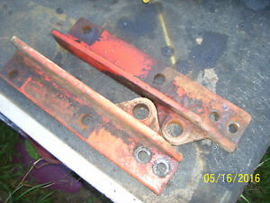 Vintage Ji Case 700 Row Crop Tractor eagle Hitch Lower Inside Brkts 1958