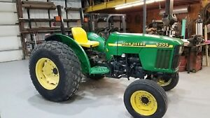 2000 John Deere 5205 Diesel Tractor Low Hours 53 Hp