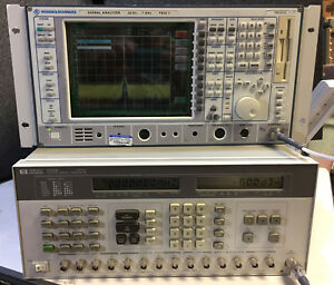 Hp Agilent Keysight 8782b Vector Signal Generator Option 001