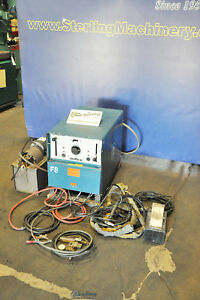 250 Amps Used Miller Welder Dialarc Hf p a4245