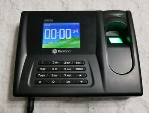 Realand Zdc20 Fingerprint Time Clock With Usb Export