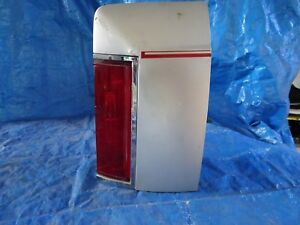1980 1984 Lincoln Town Car Right Pass Side Tail Light W Extension Oem