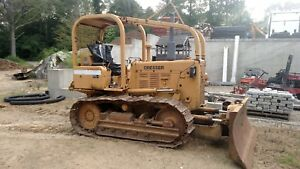 1987 International Dresser Td 8e Crawler Bull Dozer 6 Way Blade Powershift