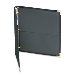Samsill Classic Collection Ring Binder 11 X 8 1 2 1 Inches Capacity Black