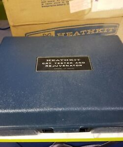 Heathkit It 5230 Crt Tester And Rejuvenator Guaranteed Working With Manuals