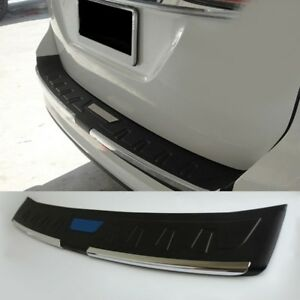 Chrome Rear Step Bumper Cover Trim For Toyota Fortuner An160 Hilux Sw4 2015 2017