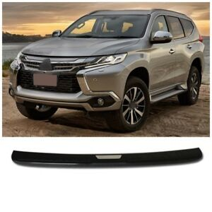 Chrome Rear Step Bumper Cover Trim For Mitsubishi Pajero Montero Sport 2016 2017