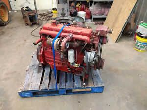 Perkins T6 3541 Or T6 3724 6 Cyl Turbo Diesel Engine Complete Great Runner