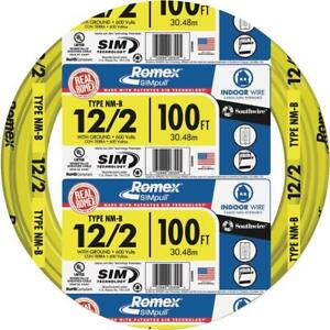Southwire 12 2 Nmb With G 100 Wire 28828228