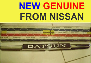 Datsun 1600sss Voilet 710 140j 160j Rear Emblem New Excellent
