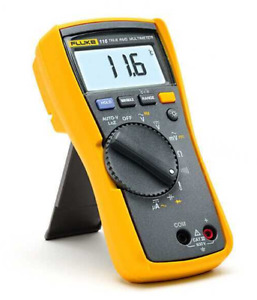 Fluke 116c Multimeter Temperature Microamps Hvac