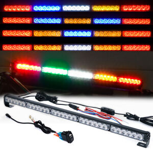 Xprite 30 For Offroad Utv Atv Led Strobe Light Bar Rear Chase W Brake Reverse