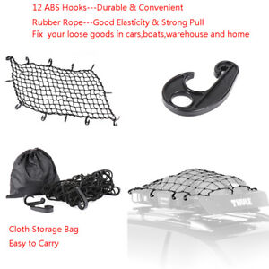 22 X38 Cargo Net Stretches To 44 X76 Universal For Most Trucks Cars Atvs Utvs